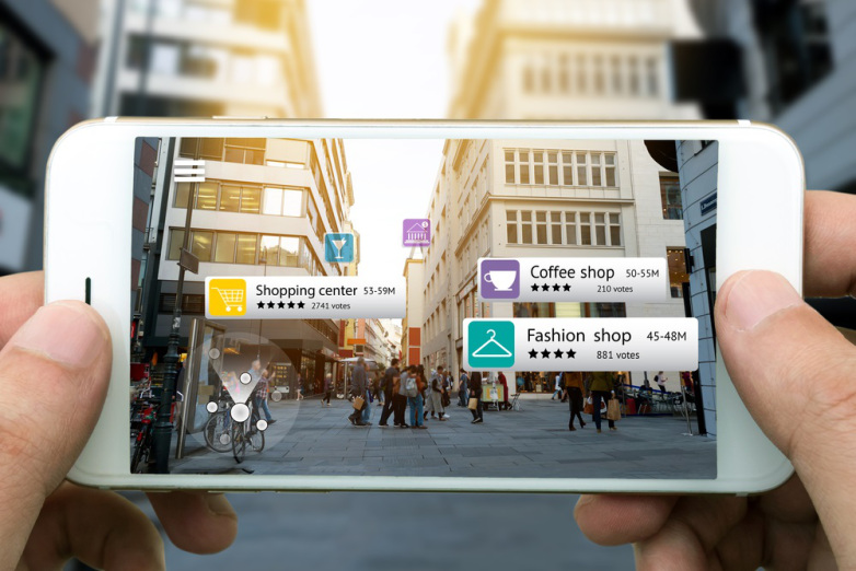 What is 'Augmented Reality' and how does it work?
